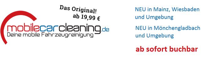 mobilecarcleaning.de • Deine mobile Autoreinigung • Autowäsche vor Ort